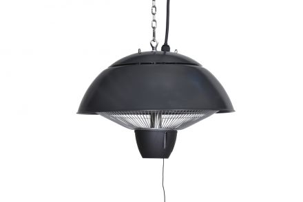 Bordeaux hangende heater 43CM (carbon black / 1500W)