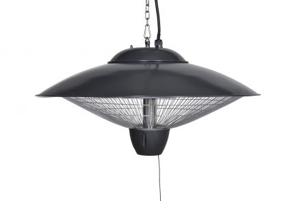 Bordeaux hangende heater 60CM (carbon black / 2000W)