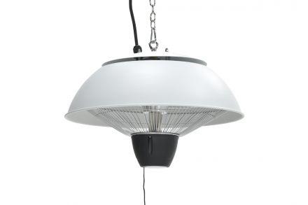 Bordeaux hangende heater 43CM (mat white / 1500W)