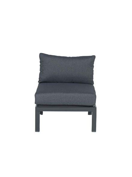 Annabella lounge fauteuil (carbon black/ reflex grey)