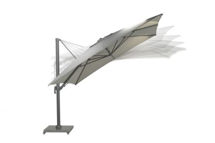 Hawaii Big Pole 350x350 cm (arctic grey/ zand)