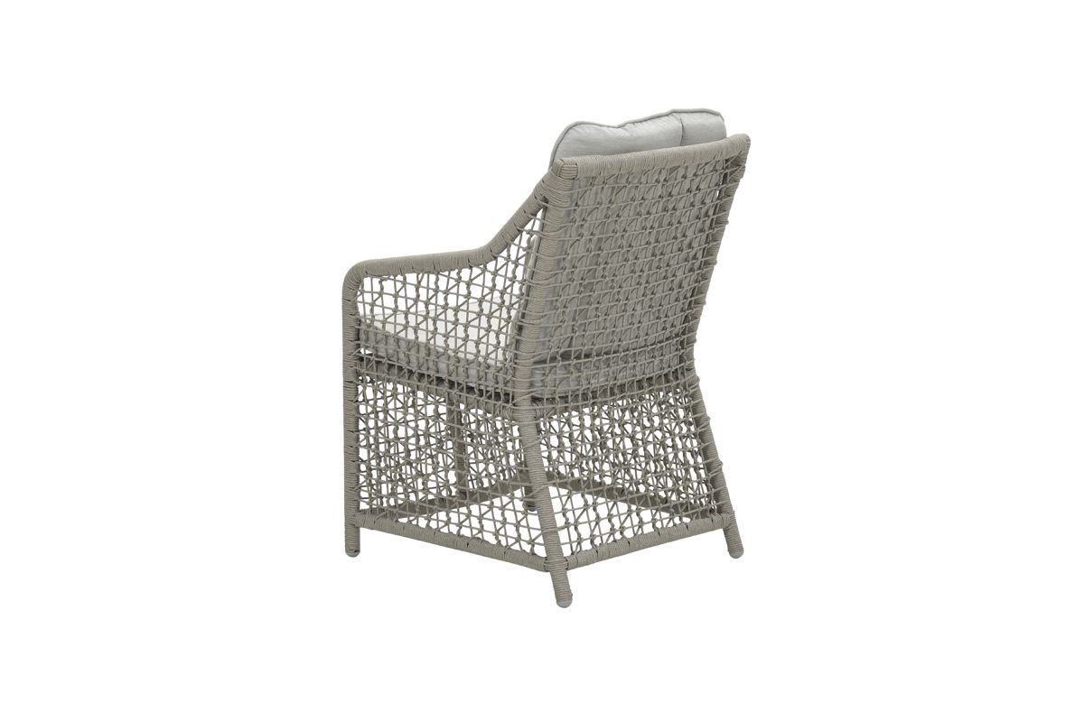 Alexandria dining fauteuil (rope taupe Ø4mm/ sand)