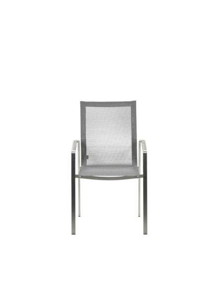 Geneva dining stoel (grijs textileen)