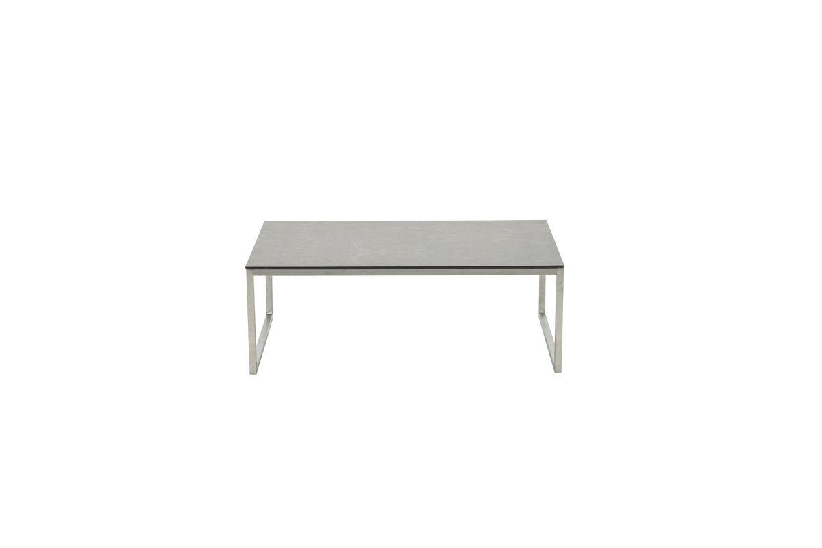 Belerive tafel 110x70xH40 (RVS/ ceramic glass 8mm)
