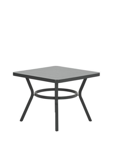 Douglas dining tafel 90x90xH71 cm (carbon black)