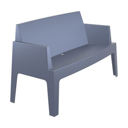 Box bench L138 (dark grey)