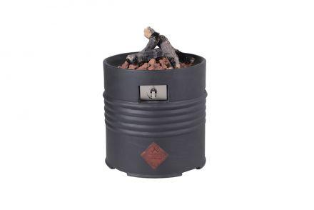 Cozy living sfeerhaard Barrel (black/Ø60xH62)