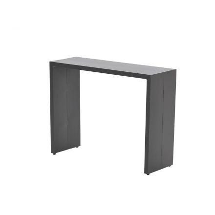 Cube bijzettafel 85x28,5xH65 (carbon black)