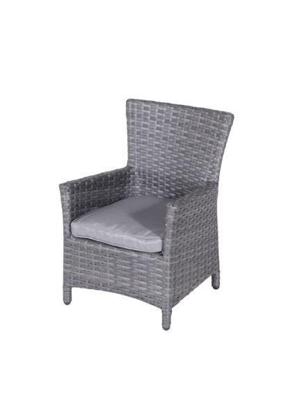 Nikki kinder dining fauteuil (earl grey/antraciet)