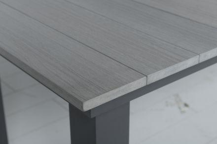 Parkland tafel 240x100xH74 cm (VW vintage grey/carbon black)