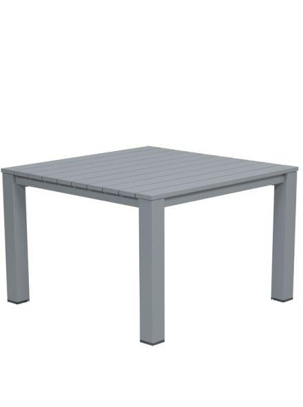 Romero L/D tafel 100x100xH68 (arctic grey)