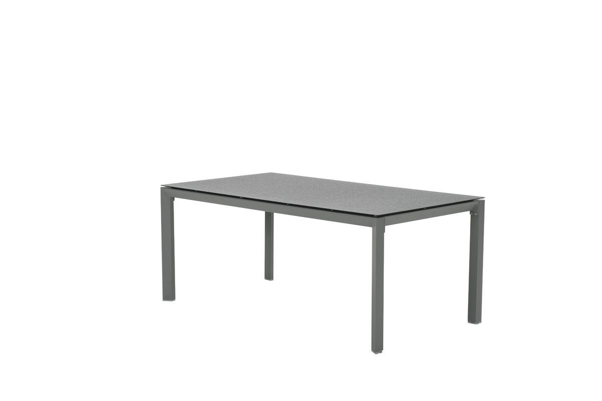 Salsa tafel 180x100 cm (arctic grey/grijs spraystone)