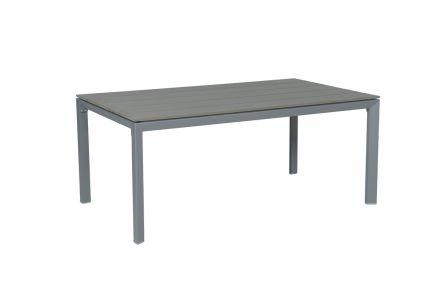 Salsa tafel 180x100 cm (arctic grey/grijs polywood)