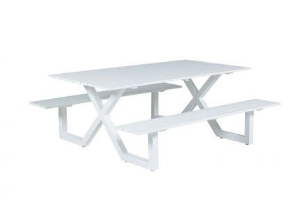 Napels picknick set (L180xW170xH71 mat wit)