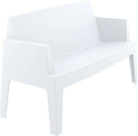 Box bench L138 (white)