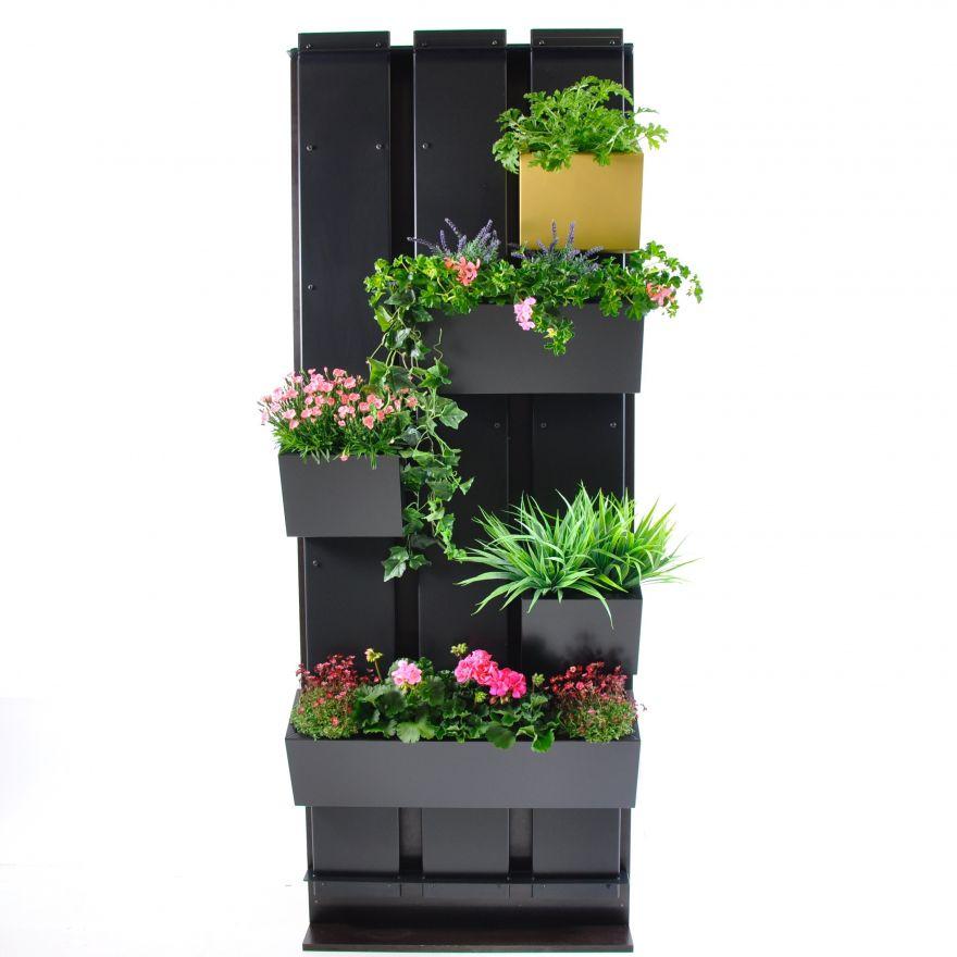 Plantenwand GRO Wall + Wandbak GRO25