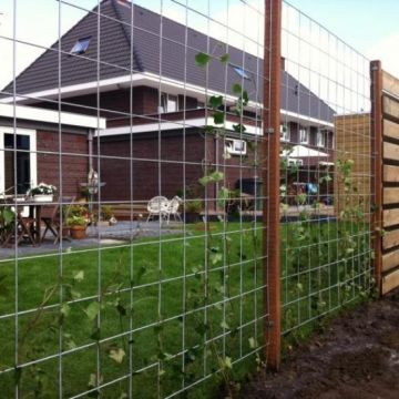 Vormen van open tuinafscheidingen