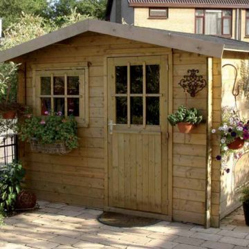 Bouw je eigen houten tuinhuis!