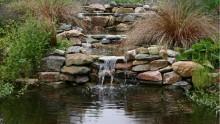 Watervallen, watermuren en waterornamenten