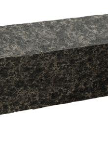 Bloktrede Tibet basalt New Black 100 x 35 x 15 cm