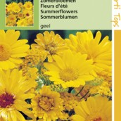 Mengsels Zomerbloemen gele tinten
