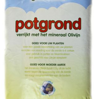 Olivijn potgrond  20 liter - 120 stuks (CO2 reducerende potgrond)