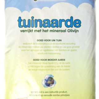 Olivijn tuinaarde  25 liter - 90 stuks (CO2 reducerende tuinaarde)