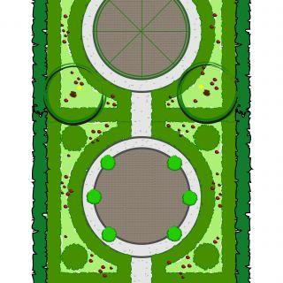 Tuinontwerp op maat | Buxustuin