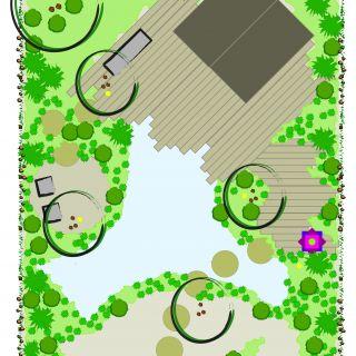 Tuinontwerp op maat | Pagode Tuin