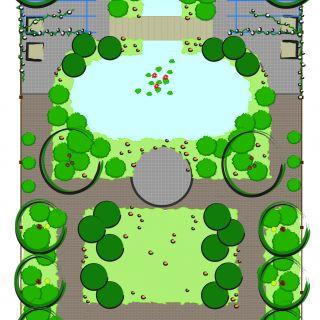 Tuinontwerp op maat | Parktuin