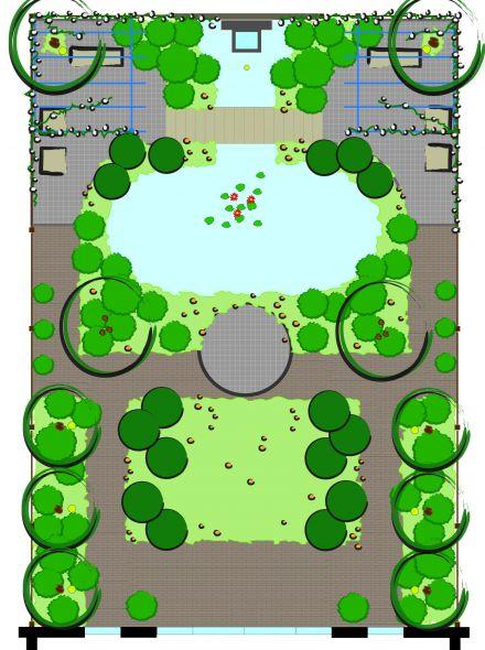 Tuinontwerp op maat   Parktuin