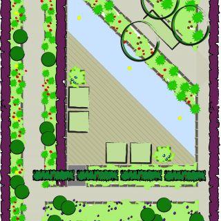Tuinontwerp op maat | Triangular Tuin