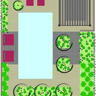 Tuinontwerp op maat | Zwembad Tuin