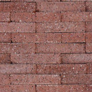 Brickwall 30x10x6,5cm terracotta, getrommeld 51 stuks per m2 zichtvlak - 336 stuks