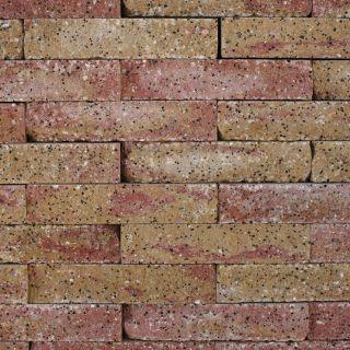 Brickwall 30x10x6,5cm toscaans, getrommeld 51 stuks per m2 zichtvlak - 336 stuks