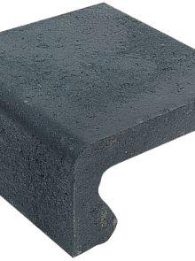 Traptrede 40x20x40cm zwart - 24 stuks