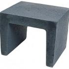U-element 40x40x50cm zwart - 18 stuks