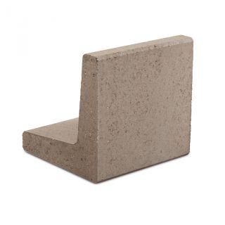 L-element 40x40x40cm grijs - 24 stuks