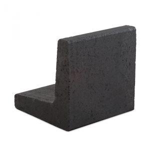 L-element 40x40x40cm zwart - 24 stuks