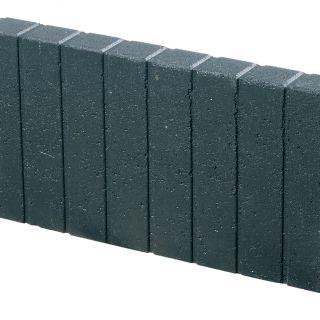 Mini Quadrobandpalissade 6x25x50cm zwart - 25 stuks