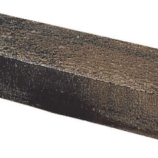Betonbiels 12x20x65cm bruin zwart - 60 stuks