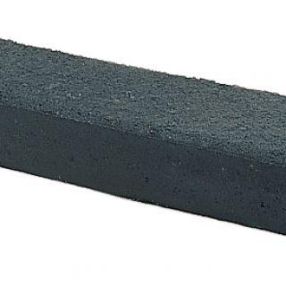 Betonbiels 12x20x120cm zwart - 30 stuks