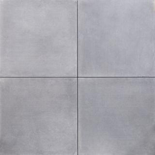 Grijze betontegel 60x60x4cm met facet (per stuk)