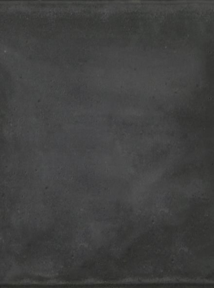 Zwarte betontegel 50x50x5cm met facet (Betontegel 50x50 cm, zwart) - per stuk