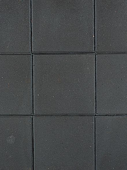 Zwarte betontegel 30x30x4,5cm (KOMO, zwarte betontegel 30x30 cm) - 5,45 m2