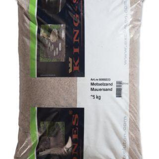 25 KG Metselzand 0-3mm - 25 kg zak