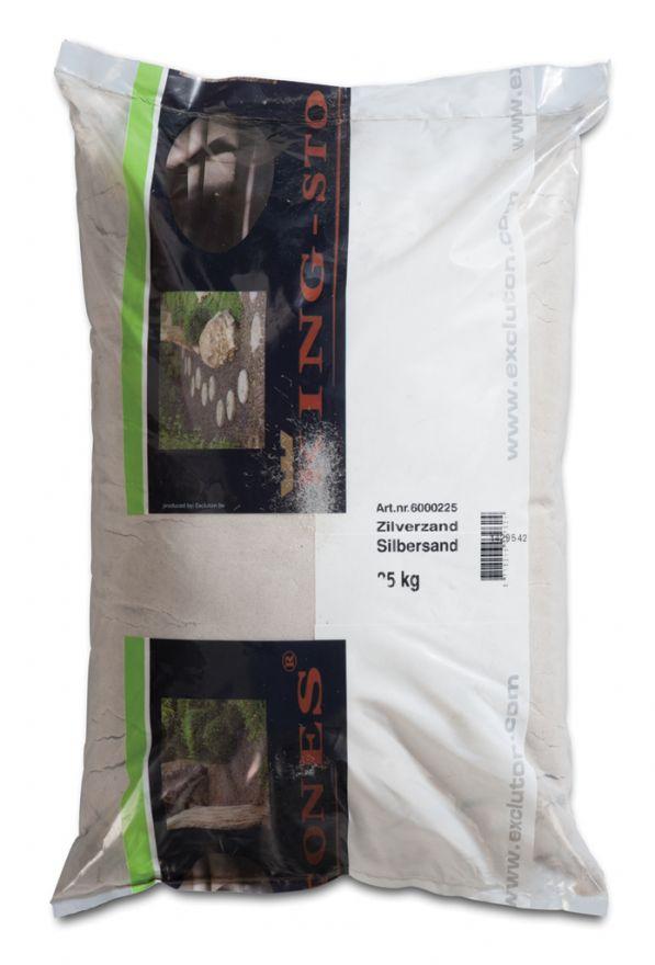 25 KG Zilverzand - 25 kg zak