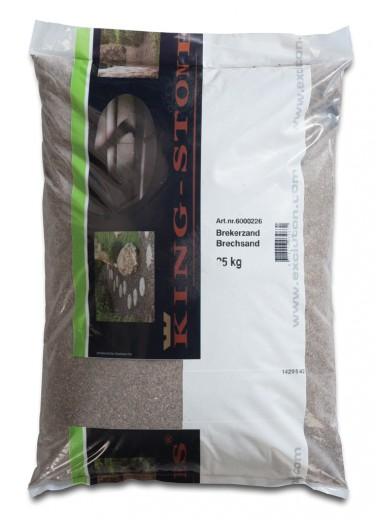 25 KG Brekerzand 0-4mm - 25 kg zak