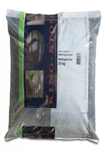 25 KG Basalt voegzand 0-2mm - 25 kg zak