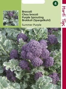 Broccoli Summer Purple (paarse zomerbroccoli 1 gram)